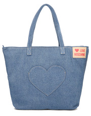Shopper bag Heart Pocket - Torebka Damska - JC4249PP07KG070A - Mivo.pl Love Moschino