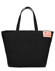 Shopper bag Heart Pocket - Torebka Damska - JC4249PP07KG000A - Mivo.pl Love Moschino