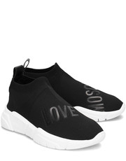 Sneakersy Running Sock - Sneakersy Damskie - JA15223G17IR0000 - Mivo.pl Love Moschino