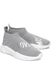 Sneakersy Running Sock - Sneakersy Damskie - JA15223G17IS0902 - Mivo.pl Love Moschino
