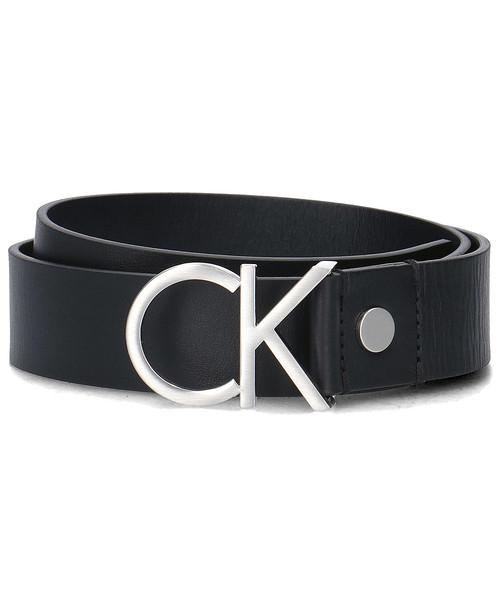 b8f3c3ebc5563 Pasek Calvin Klein Logo Belt - Pasek Damski - K60K602141 001