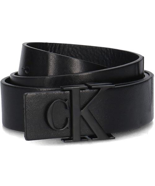 e998929701bd5 Pasek Calvin Klein 3cm Mono Leather Belt - Pasek Damski - K60K604771 001