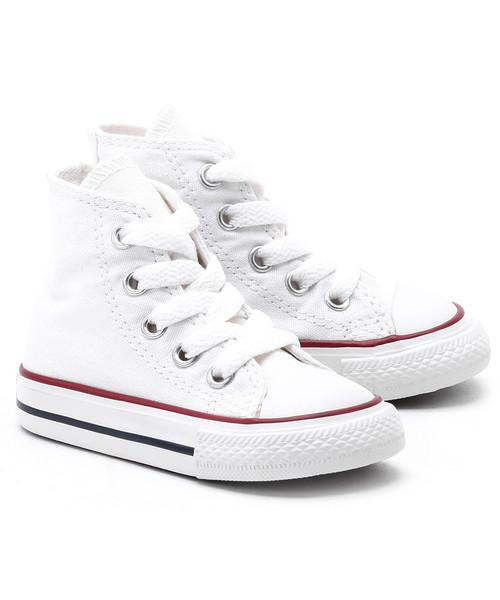 trampki dziecięce Converse Chuck Taylor All Star Mini Białe Canvasowe Trampki Dziecięce 7J253C