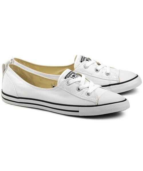 trampki damskie Converse Chuck Taylor All Star Ballet Lace Białe Canvasowe Trampki Damskie 547167C