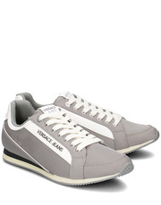 Sneakersy męskie Uomo - Sneakersy Męskie - E0YPBSA2 77182 800 - Mivo.pl Versace Jeans