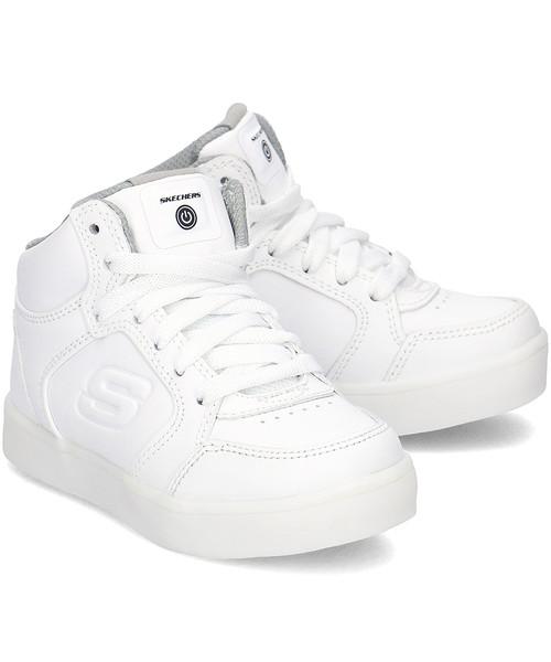 b839b33a6e8 Sneakersy dziecięce Skechers Energy Lights - Sneakersy Dziecięce - 90600L  WHT