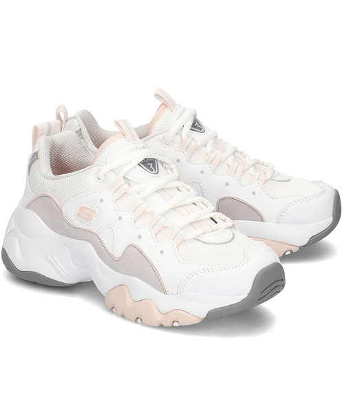 sneakersy Skechers D Lites 3.0 Zenway Sneakersy Damskie 12955WGPK