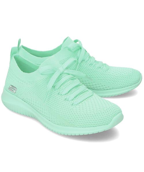 sneakersy Skechers Ultra Flex Pastel Party Sneakersy Damskie 13098MNT