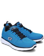 Sneakersy męskie Power Switch - Sportowe Męskie - 51188/BLBK - Mivo.pl Skechers