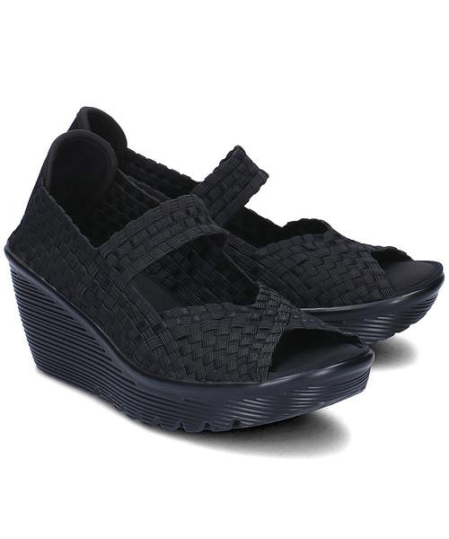 sandały Skechers Midsummers Weave Sandały Damskie 38522BBK