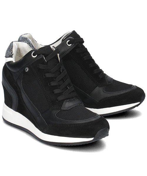 sneakersy Geox Donna Nydame Sneakersy Damskie D540QA 08822 C9999