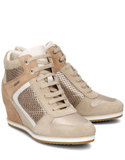 Sneakersy Donna Illusion - Sneakersy Damskie - D7254B 022BV CH6B5 - Mivo.pl Geox