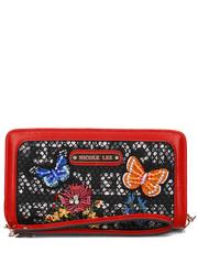 Portfel Lee Flower Embroidery - Portfel Damski - P6300 - Mivo.pl Nicole