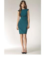 sukienka Nife - Sukienka z kokardką - zielony