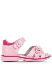 Sandały dziecięce Dziewczęce buciki na lato CAEDMON odcienie różu - Merg.pl Awards