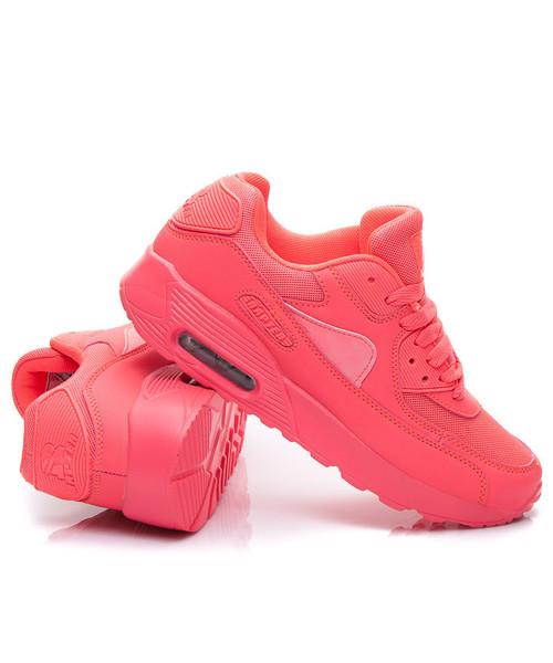 Rapter Wygodne neonowe buty sportowe różowe | Tenisówki