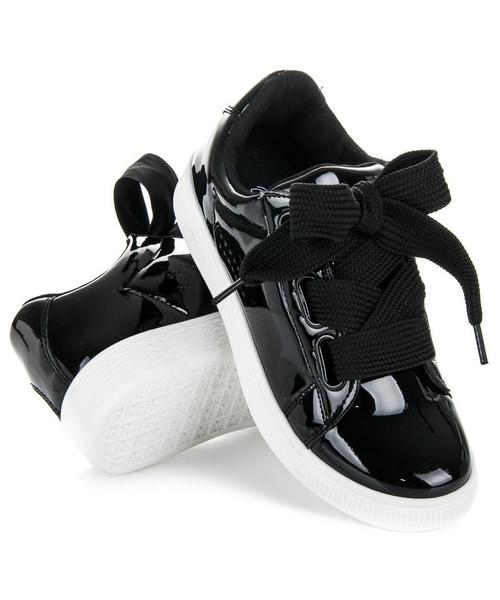 trampki damskie Best Shoes Lakierowane trampki Nycole