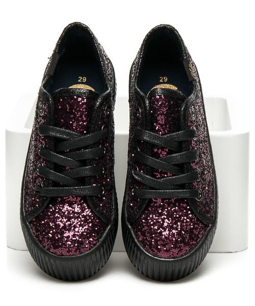 4c19b45c41fe4 Kylie Brokatowe Trampki Z Ociepleniem ESME, sportowe buty dziecięce ...