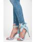 Sandały Ideal Shoes Sandałki zapinane na suwak DIOR