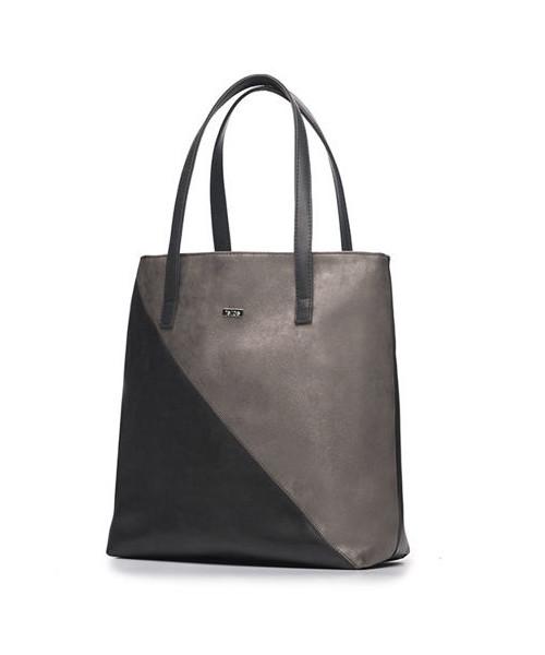 9afb46045aff4 Shopper bag Felice TORBA SHOPPER VERONA TRES - CIEMNY SZARY MARY