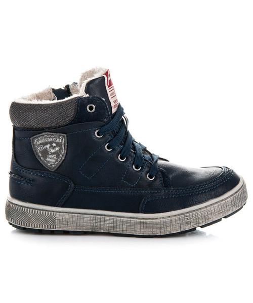 cd656870 Sportowe buty dziecięce American Club Ocieplane obuwie sportowe Lagoon