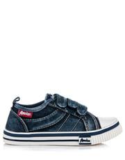 American Club Jeansowe trampki dla chłopca COOPER czarne