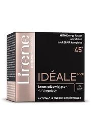 Twarz Ideale Pro 45+ krem odżywiająco-liftingujący na dzień - Lirene.com Lirene