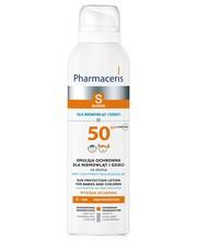 Do opalania Emulsja ochronna dla niemowląt i dzieci na słońce SPF 50 - pharmaceris.com Pharmaceris