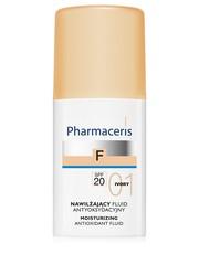 Podkład FLUID ANTYOKSYDACYJNY z sylimaryną SPF20 01 IVORY (kość słoniowa) NAWILŻAJĄCY - pharmaceris.com Pharmaceris