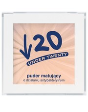 Puder Puder matujący o działaniu antybakteryjnym - undertwenty.pl Under Twenty