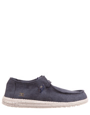 półbuty męskie HeyDude Wally Perforated Navy - Bayla.pl