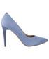 Czółenka na szpilce Bayla -056 1810-605 Niebieski
