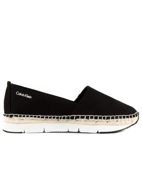 c1548d47 Calvin Klein Jeans Genna Canvas Black, buty damskie - Butyk.pl