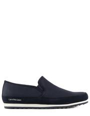 Sneakersy męskie Wolf Canvas Suede - Bayla.pl Calvin Klein Jeans