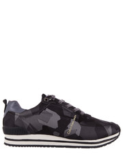 sneakersy męskie Everly Camouflage Jacquard Dark Grey - Bayla.pl