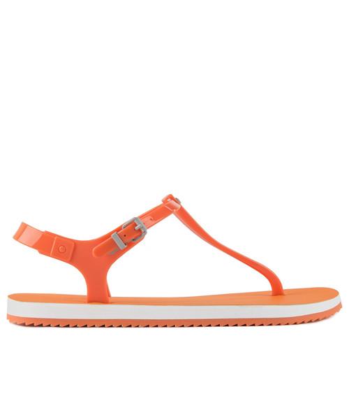 2c64a9a10160a Calvin Klein Jeans Savanna Jelly Orange Fluo., sandały - Butyk.pl