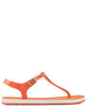 Sandały Savanna Jelly Orange Fluo. - Bayla.pl Calvin Klein Jeans