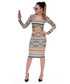 Sukienka SELFIEROOM Komplet Aztec