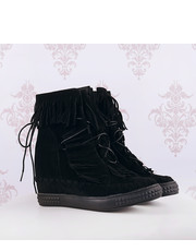 Sneakersy SNEAKERSY FRĘDZLE - black - Selfieroom.pl SELFIEROOM