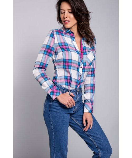 087c3185c1 koszula Natty Looker Cotton Candy - koszula damska w kratę