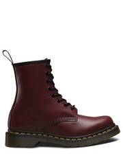 Workery Buty  1460 W Cherry Red Smooth - Martensy.pl Dr. Martens