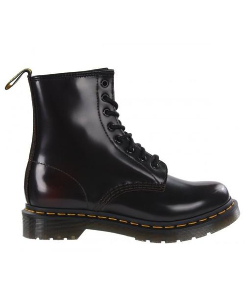 rozsądna cena zasznurować najniższa cena buty damskie Dr. Martens Buty 1460 Cherry Red Arcadia