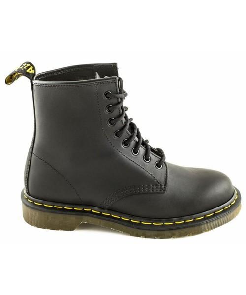 świetne ceny niska cena ładne buty buty damskie Dr. Martens Buty 1460 Black Greasy