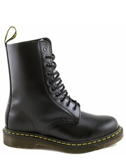 Workery Buty  1490 Black Smooth - Martensy.pl Dr. Martens