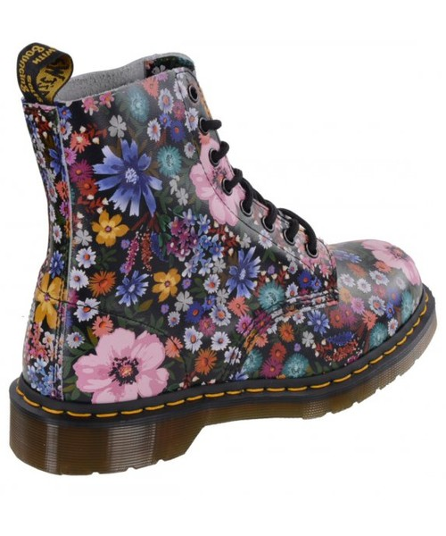 outlet on sale clearance prices superior quality półbuty Dr. Martens Buty PASCAL WL Black Mallow Pink Wanderlust Backhand  23317002