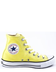 Trampki damskie Trampki  CHUCK TAYLOR ALL STAR HI Light Yellow 136812C - Martensy.pl Converse