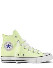 Trampki damskie Trampki  CHUCK TAYLOR ALL STAR HI Neon Yellow 136582C - Martensy.pl Converse
