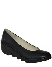 Czółenka Czółenka Fly London PUMP Black P - Martensy.pl FLY London