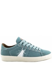 Trampki damskie Trampki Fly London BERG 823 Blue Baby Suede - Martensy.pl FLY London