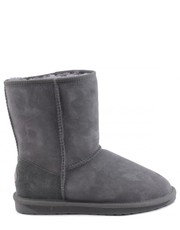 Śniegowce Buty  AUSTRALIA STINGER LO CHARCOAL WATER RESISTANT - Martensy.pl EMU
